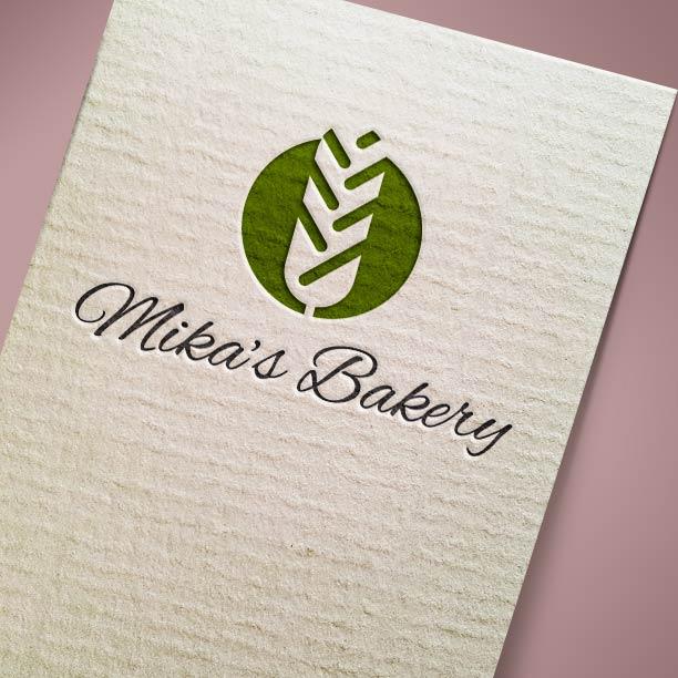 Λογότυπο Mika's Bakery