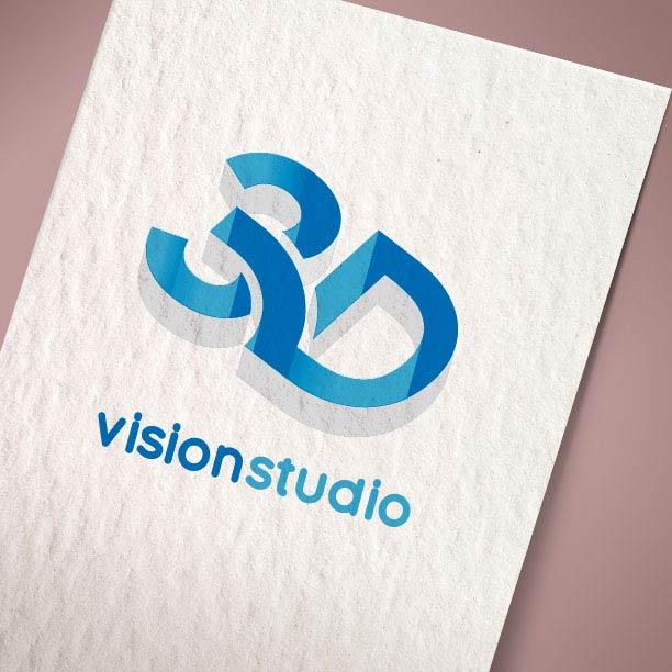 Λογότυπο 3d Vision Studio