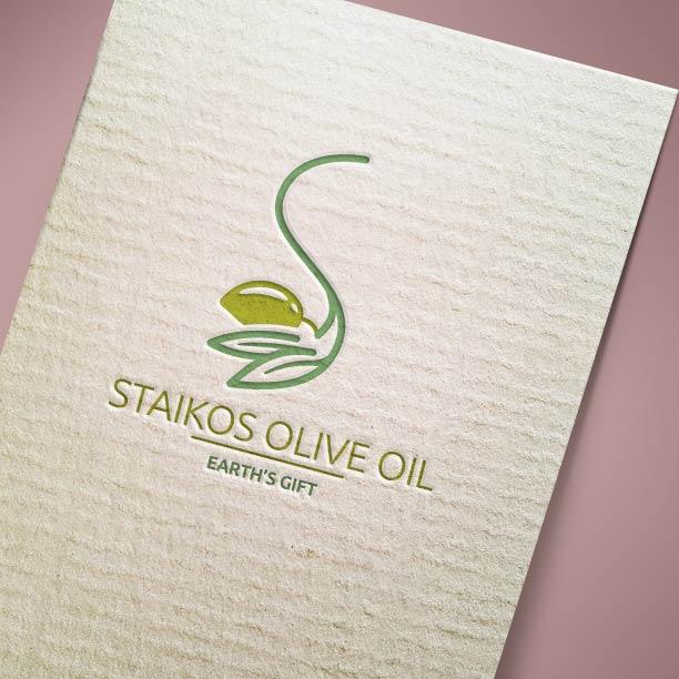 Λογότυπο Staikos Olive Oil