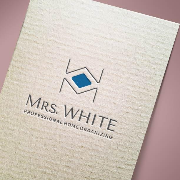 Λογότυπο Mrs WHITE