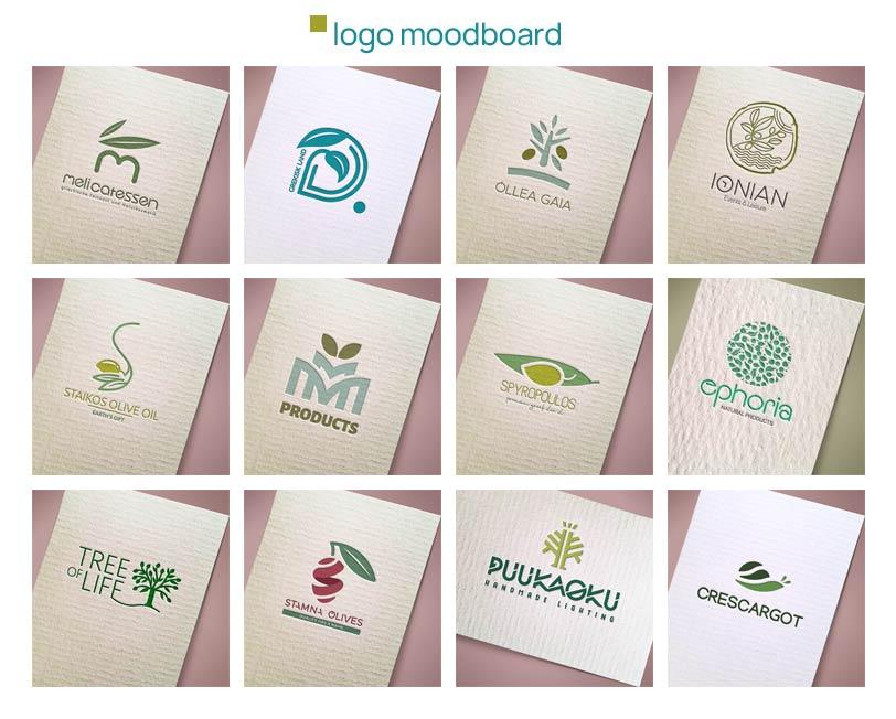 logo moodboard